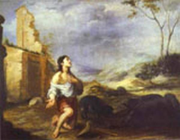 the prodigal son feeding swine 1660s XX national gallery of ireland dublin ireland
